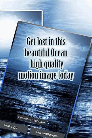 Blue Ocean Waves Live Wallpaper Android Download
