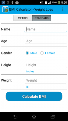 BMI Calculator - Weight Loss for Android - Download