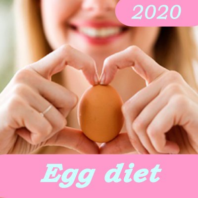 boiled egg diet - diet plan weight loss - egg diet icon