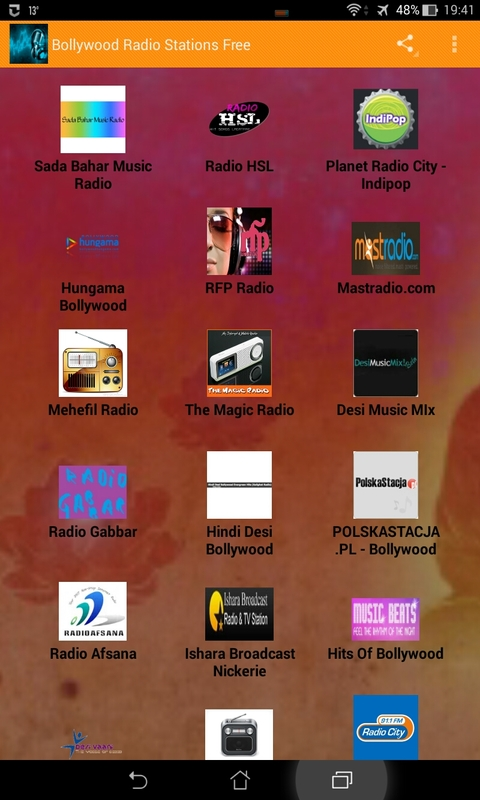 Bollywood Radio Stations Free Android App