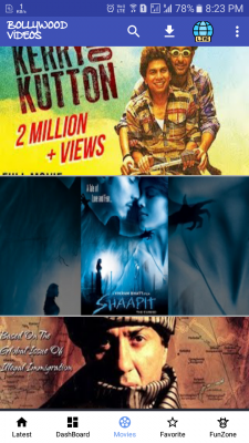 New Bollywood Videos for Android - Download
