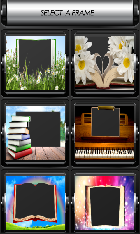 download book photo frames