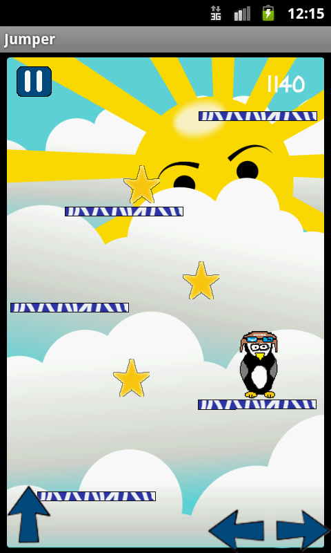 Brave Penguin Jumper HD screenshot 1