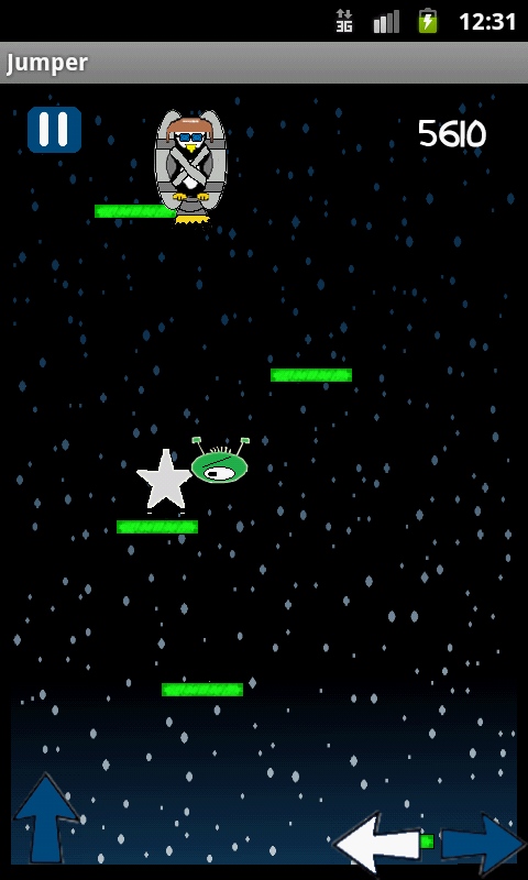 Brave Penguin Jumper HD screenshot 2