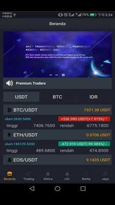 BTCBank screenshot 1