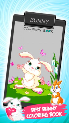 Bunny Coloring Book screenshot 1