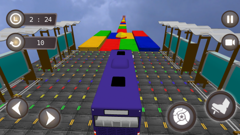 Bus Simulator 3D Driving Game screenshot 2
