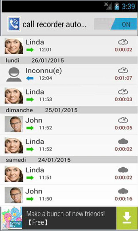 call recorder automatic screenshot 1
