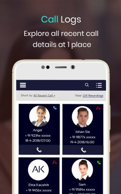 Caller ID and Mobile Tracker screenshot 1