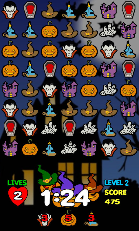 Candy Lines Halloween screenshot 1