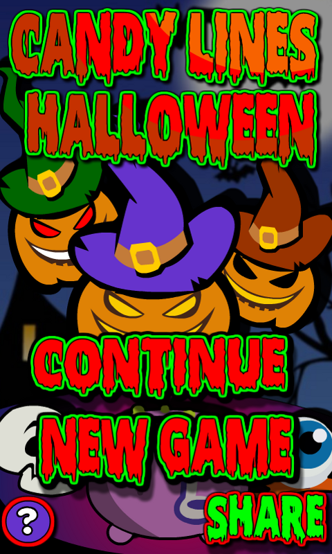 Candy Lines Halloween screenshot 2