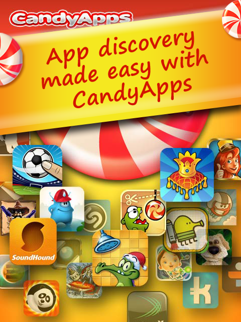 CandyApps Market Hot Apps and Games FREE screenshot 1