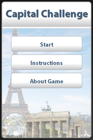 Capital Challenge Quiz screenshot 1