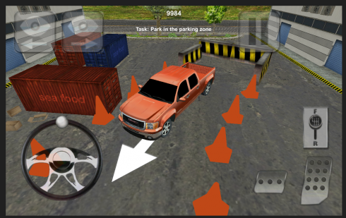 Car and Truck Parking Game screenshot 1