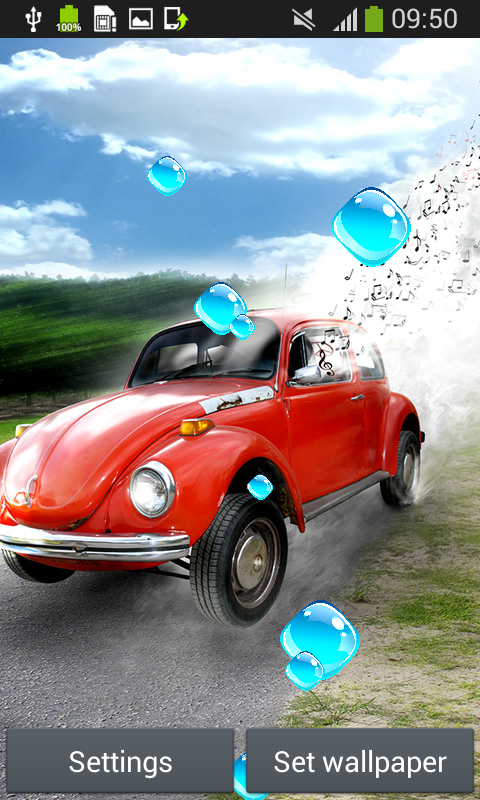 Car live wallpapers android app free apk by sparrow studio games - Car live wallpaper ...