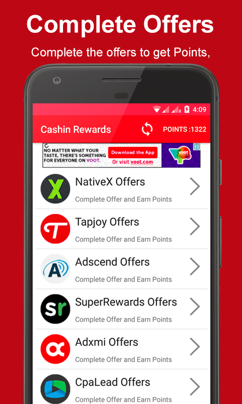 Cashin Rewards Earn Real Money Gift Cards for Android - Download