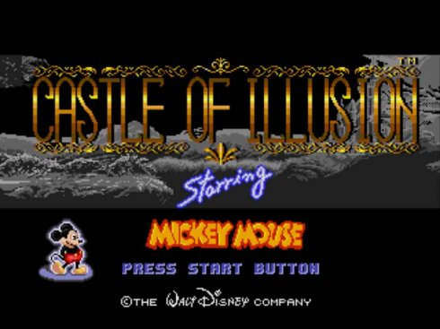 Castle of Illusion Starring Mickey Mouse Sega screenshot 1