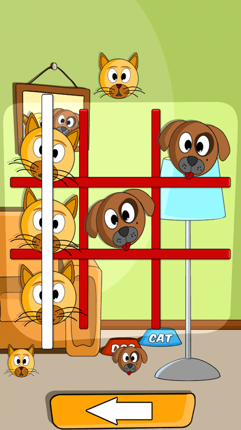 Cat Dog Toe screenshot 1