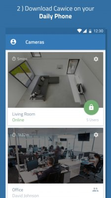 Turn my old phone into a Free Home Security Camera screenshot 2