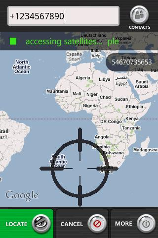 Cell Phone Tracker screenshot 1