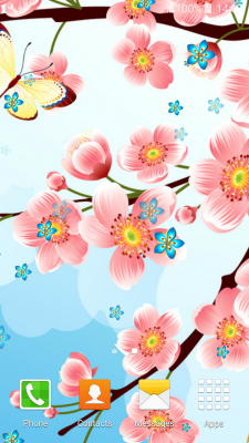 Cherry Blossom Live Wallpapers Popular screenshot 2