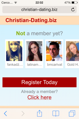 Christian dating chat line