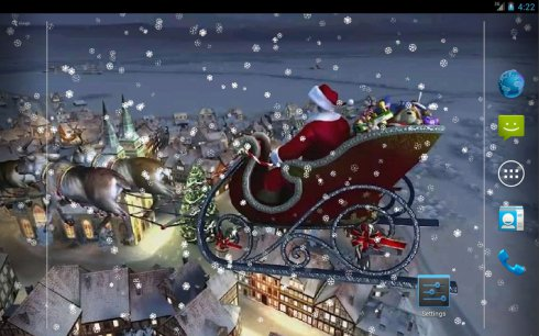 christmas 1 live wallpaper free app download android