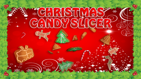 Christmas Candy Slicer screenshot 1