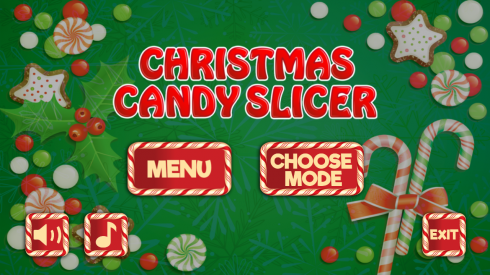 Christmas Candy Slicer screenshot 2