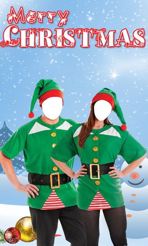 Christmas Couple Photo Suit New 2017 screenshot 2