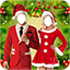 Image of Christmas Couple Photo Suit
