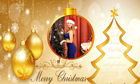 Christmas Decoration Editor free app download - Android Freeware