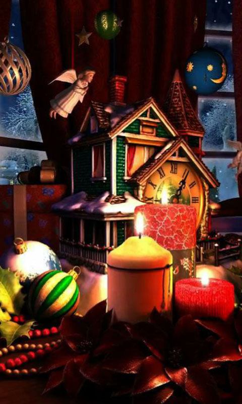 Christmas Evening Live Wallpaper Free APK Android App