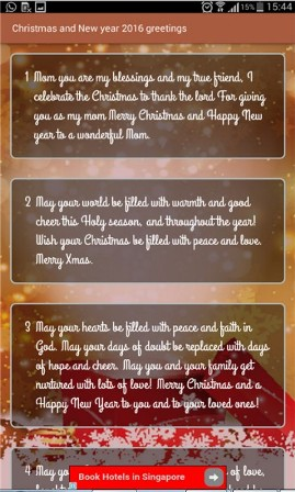 Christmas Greetings and New Year Wishes  screenshot 2
