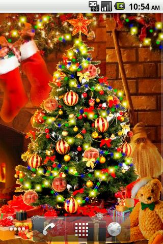 Christmas Live Wallpaper HD free app download - Android Freeware