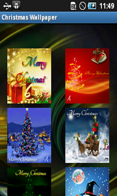 download free christmas live wallpaper apps for android phone