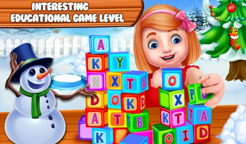 Christmas Matching Object and Pair Making Game screenshot 1