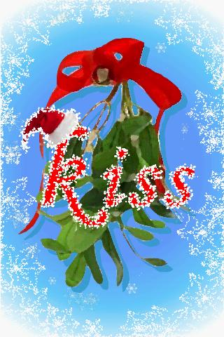 Mistletoe Wallpaper And Popping Hearts Android App Free