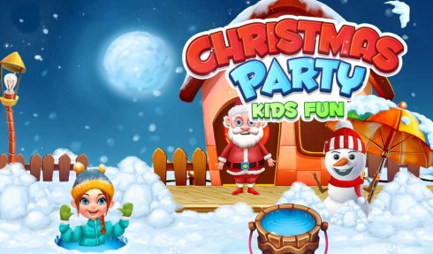 Christmas Party Kids Fun screenshot 1