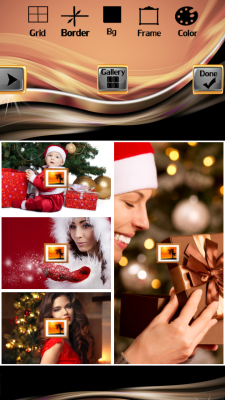 Christmas Photo Collage Best screenshot 2