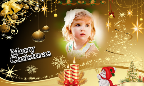 Christmas Photo Frame Maker HD free app download - Android Freeware