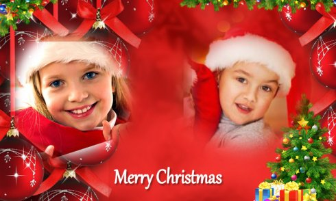 Christmas Photo Frames Dual 2018 screenshot 1