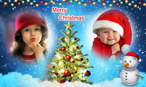 Christmas Photo Frames Dual 2018 screenshot 2