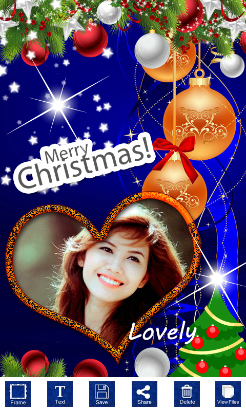 Christmas Photo Frames Latest free app download - Android Freeware