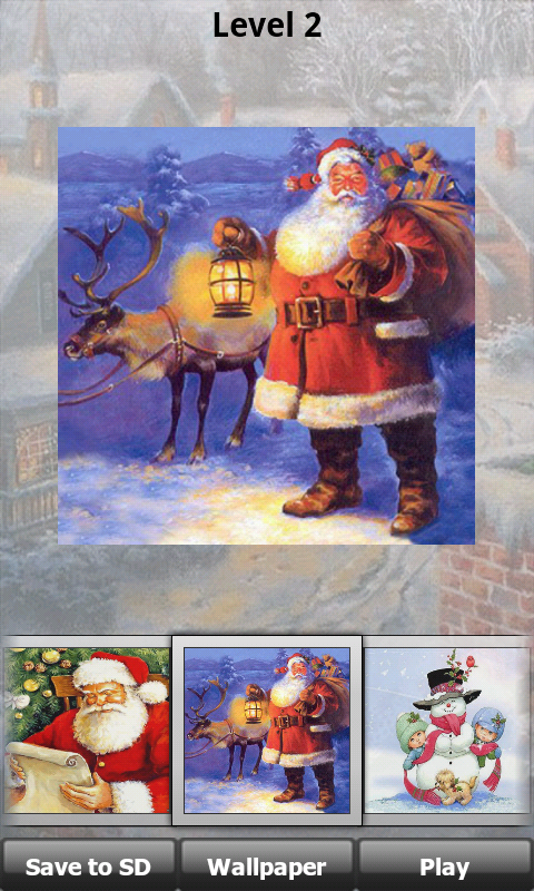 Download Christmas Puzzle Game Jigsaw free for your Android phone