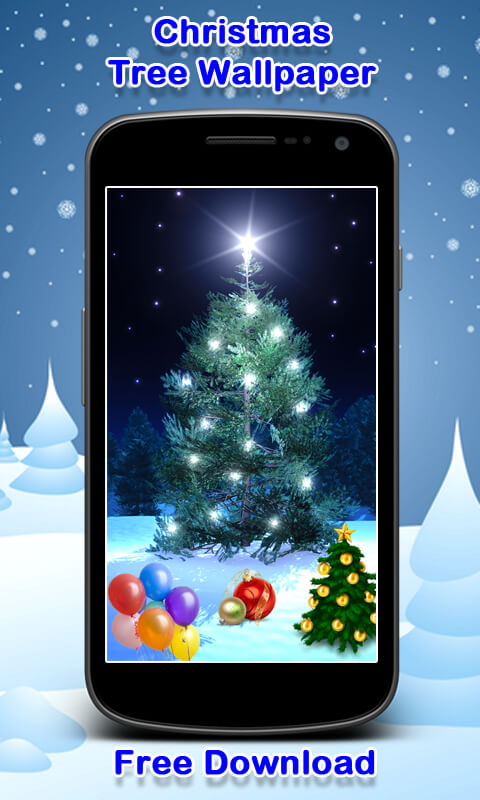 Christmas Tree Wallpaper New screenshot 1