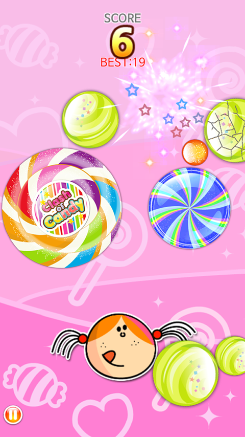 Clash of Candy Lite screenshot 2