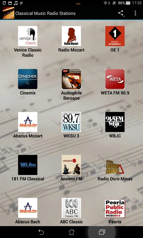 Classical Music Radio Stations Android App APK By Anteos