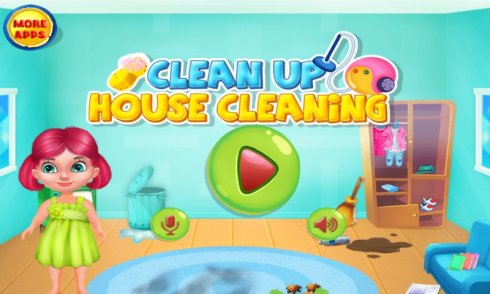 Clean Up - House Cleaning screenshot 1