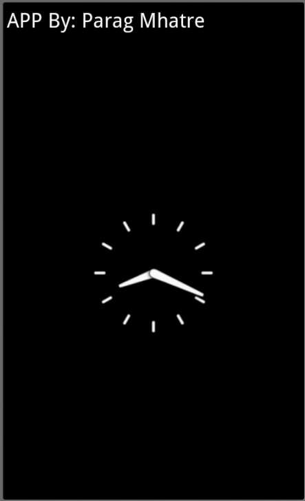 Clock as screensaver free apk android app android freeware download clock as screensaver apk free for your android phone voltagebd Images